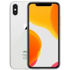 Apple IPhone X 64GB Silber ( Generalüberholt )